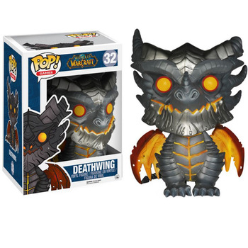 FUNKO POP World of Warcraft Aplinkinių Hearthstone Legenda Mirties Sparnai Paveiksle, Automobilių Puošyba, Lėlės, Vaikų Žaislai, Gimtadienio Dovana