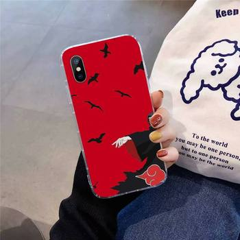 Kakashi Naruto Akatsuki anime Telefono dėklas Skirtas iphone 12 11 pro Max Mini 7 8 plus X XR XS